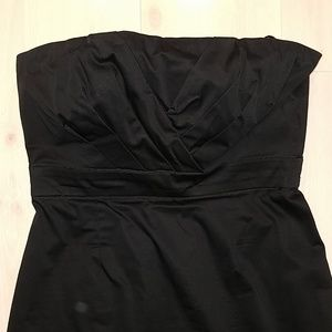 New York and Company NY Co Strapless Black Dress